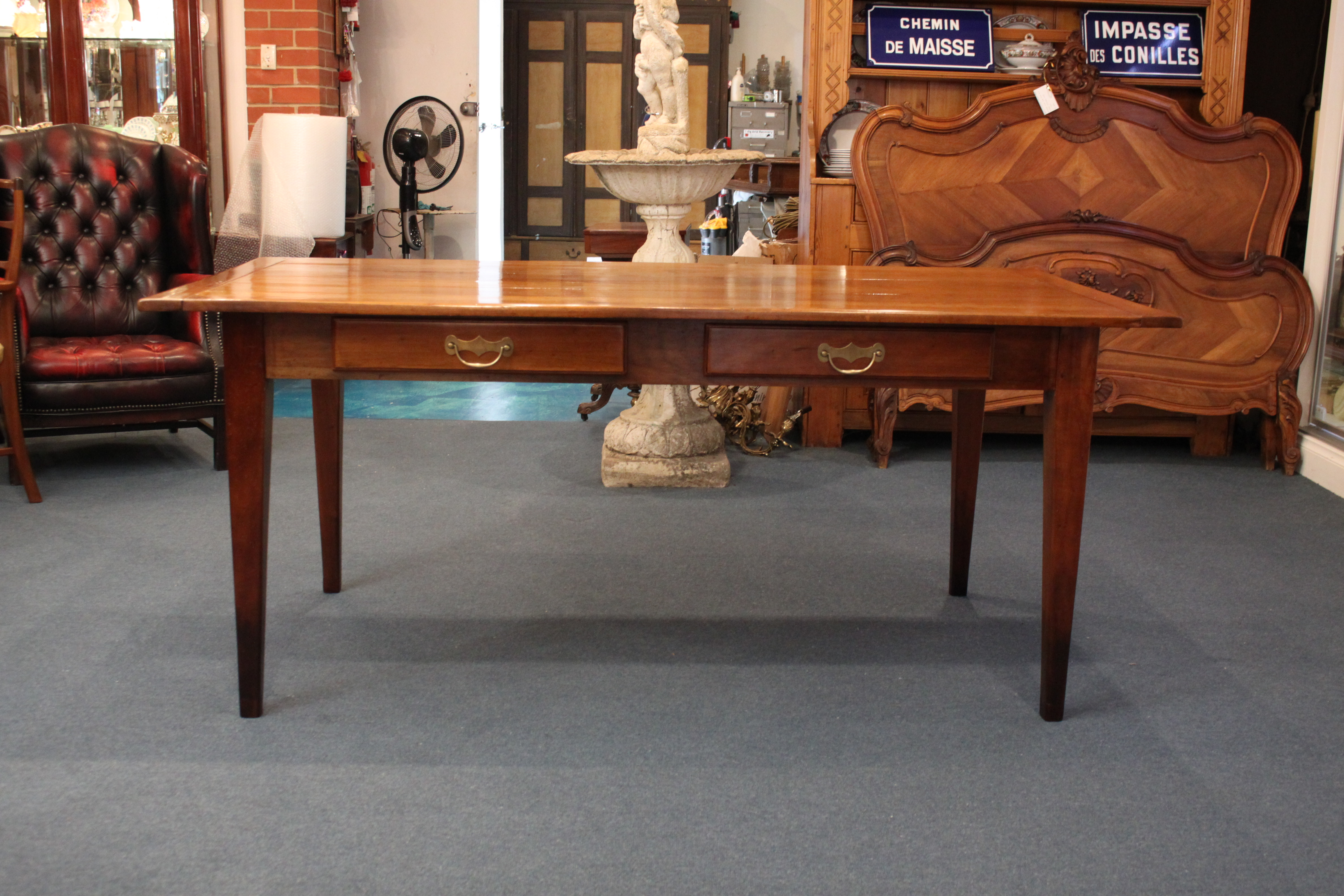 French Cherrywood Table