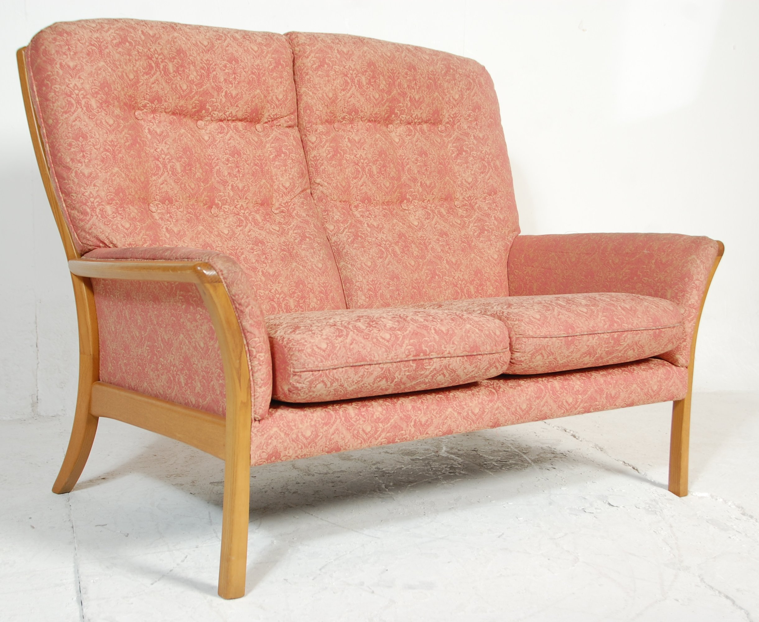 Image of: Mid Century Modern Sofa Town Country Antiques